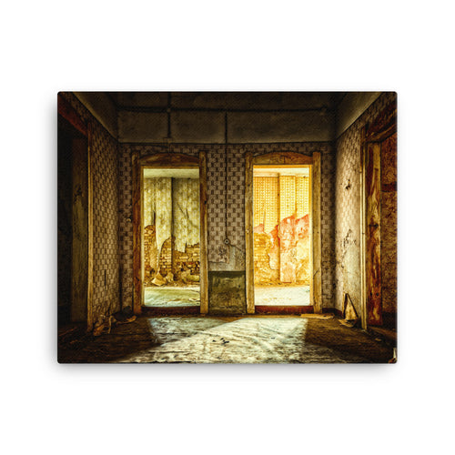 Turkish Bath Lost Space Canvas Print