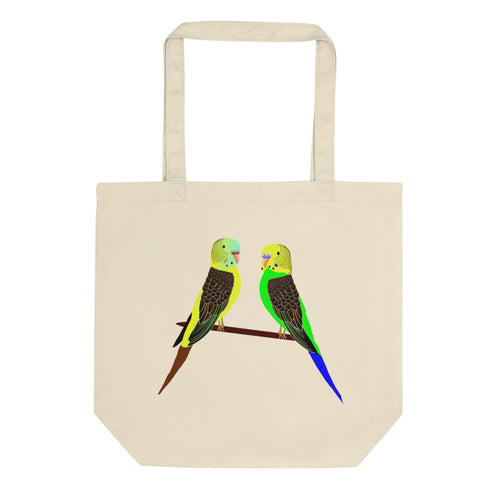 Cats, Dogs, Parrots Eco Tote Bag