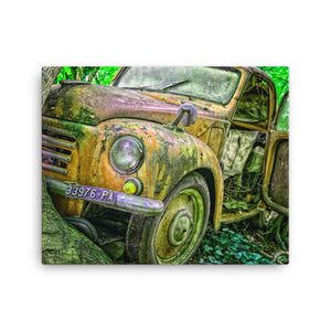 Reactive Truck Canvas Print