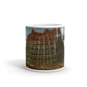 Pieter Bruegel the Elder - The Tower of Babel (Rotterdam) Classic Art Mug