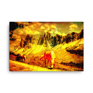 Truly Real Horse Art Canvas