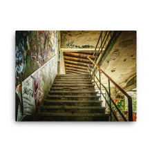 Glimpse of Stairway Canvas Print