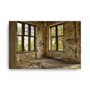 Big Window Light Canvas Print