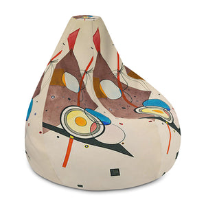 Composition II Bean Bag Chair w/ filling