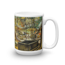 Pieter Brueghel (II) - The four seasons, autumn (Bukarest) Classic Art Mug
