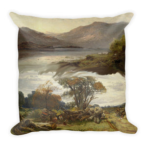 The islands of Loch Maree Premium Pillow