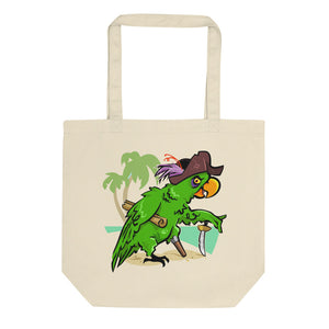 Parrots Don't Speak Eco Tote Bag