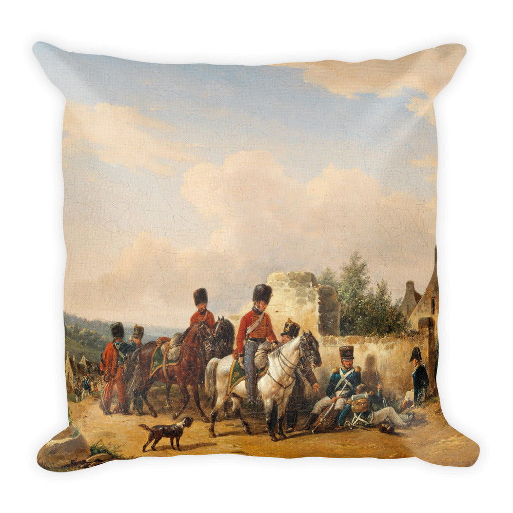 Imperial French Soldiers Premium Pillow