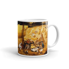 Pieter Bruegel the Elder- The Corn Harvest (August) Classic Art Mug