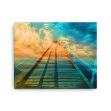 Dock To Heaven Digital Art Canvas