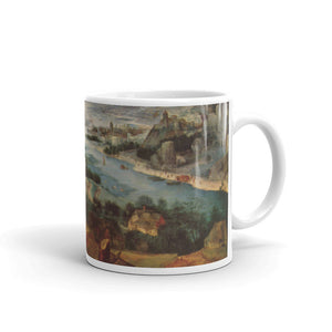Pieter Bruegel Landscape with the Parable of the Sower Classic Art Mug