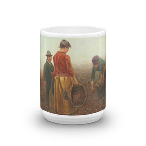Lászlo Pataky von Sospatak - The Potato Harvest Classic Art Mug