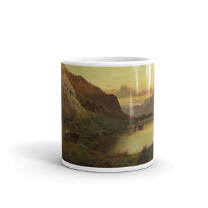 Alfred de Bréanski - At the foot of Ben Nevis, N.B Classic Art Mug