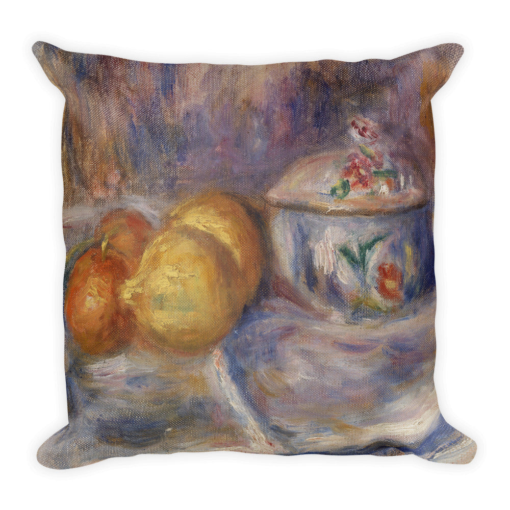Fruit and Bonbonnière Premium Pillow