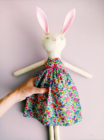 Summer, Handmade Rabbit Doll