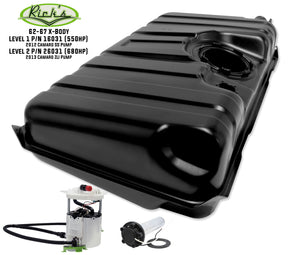 Nova Gas Tank Black EFI