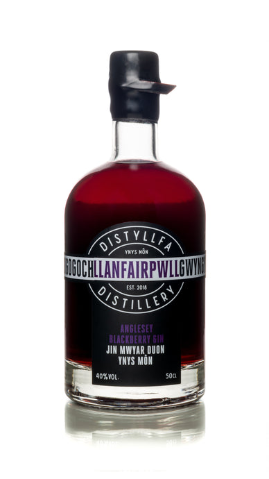 Llanfairpwll Distillery  - Autumn Blackberry Gin 50cl Craft Anglesey Gin