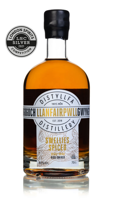 Llanfairpwll Distillery Swellies Spiced Rum  Award Winning Welsh Rum