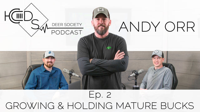 Deer Society Podcast : Episode 2 (Andy Orr)