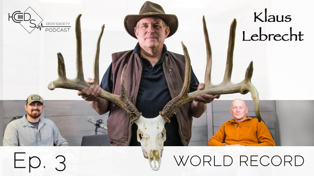 Deer Society Podcast : Episode 3 (Klaus Lebrecht)