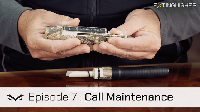 Deer Calling Instructional: Call Maintenance (Episode 7)