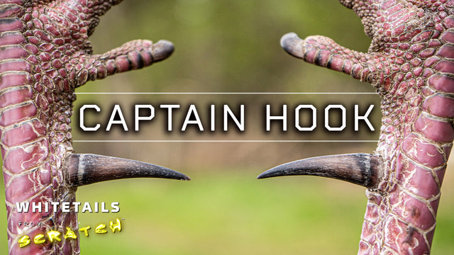 Captain Hook - The hunt for a LONG spurred 5-year old gobbler!