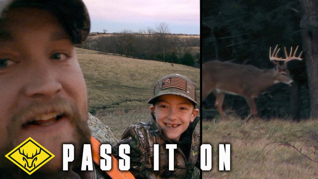 PASS IT ON | A Father and Son's First Buck!