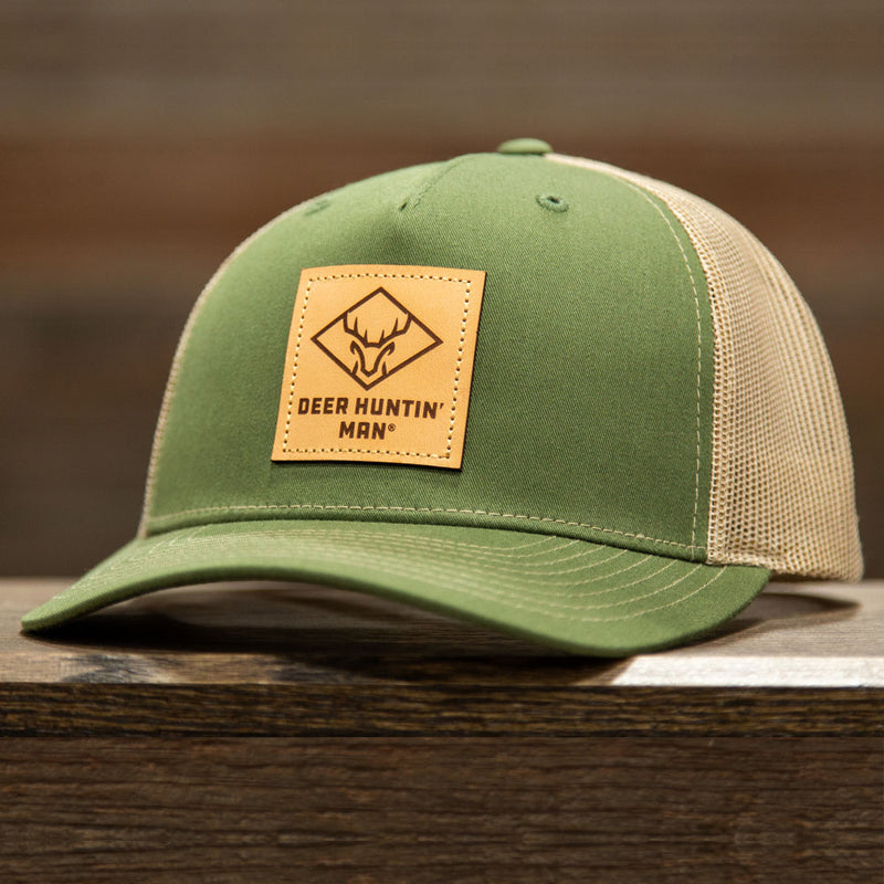 DHM Leather Patch (OLIVE TAN)