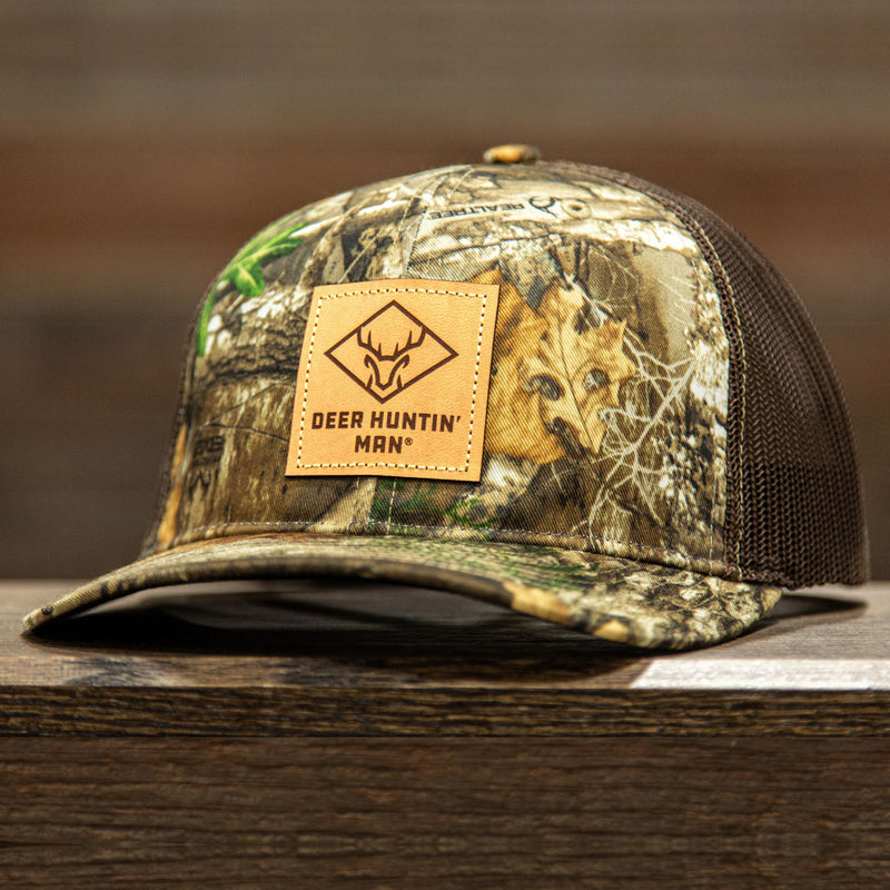 DHM Leather Patch (REALTREE EDGE)