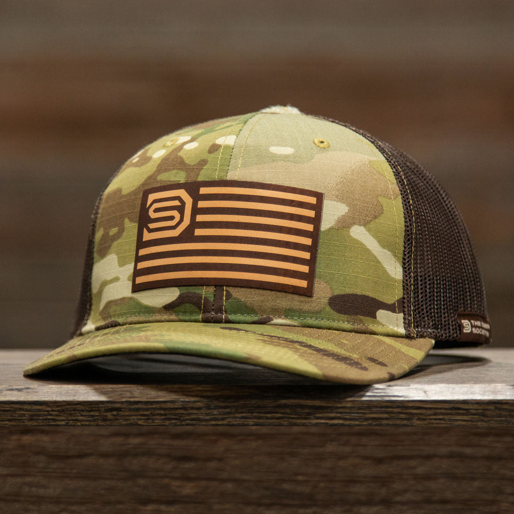 Coyote Multicam Leather Patch