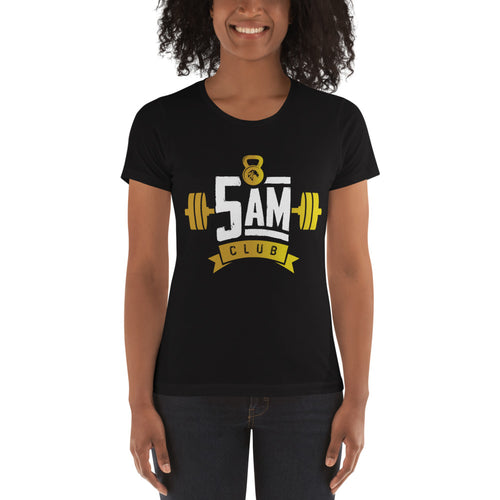 5 AM Club Women's t-shirt