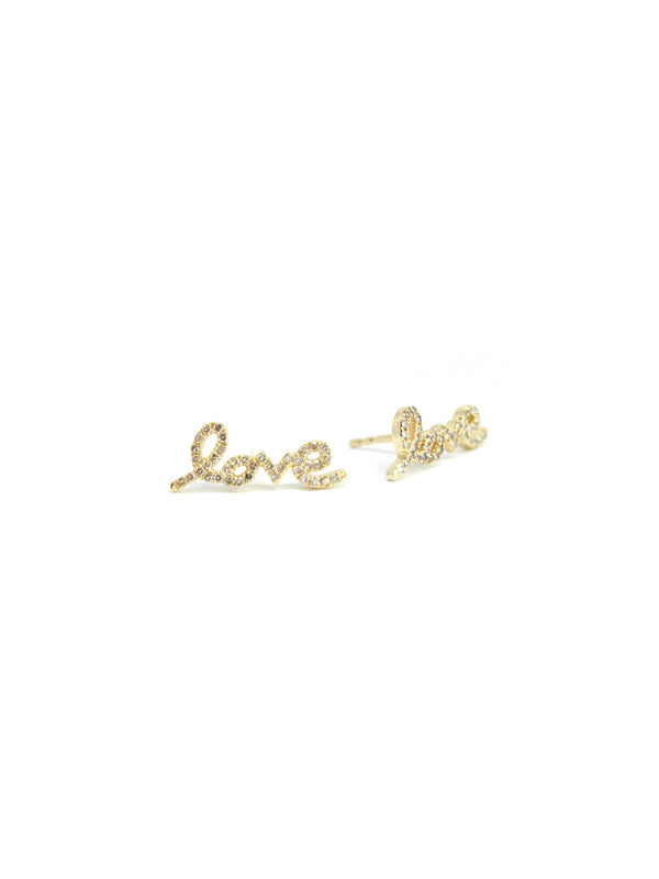 Athena — Love Diamond Studs