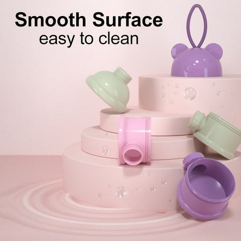 smooth surgace easy to clean baby milk powder box