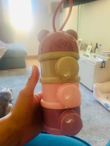 baby milk powder stacked container