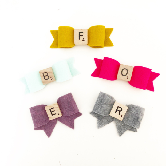 Original Scrabble Bows