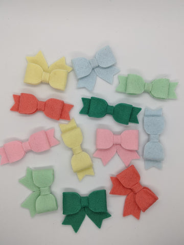 Summer Wool Bows
