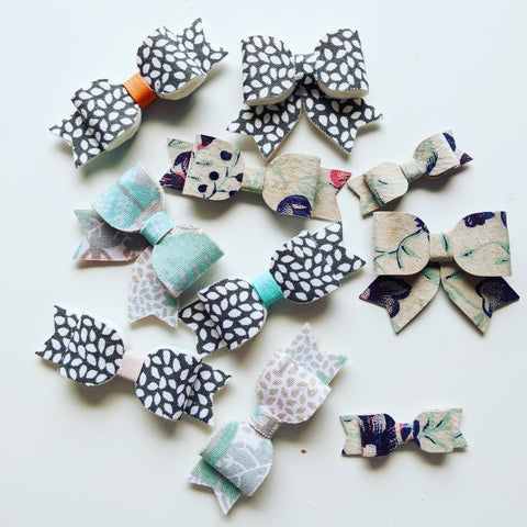 Summer Specialty Fabric Bows