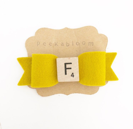 Original Scrabble Bow