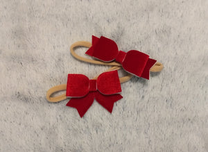 Holiday Velvet Large Bow