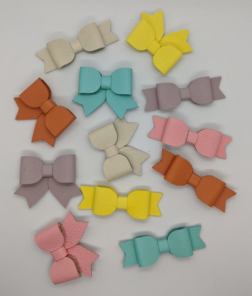 Summer Leather Bows