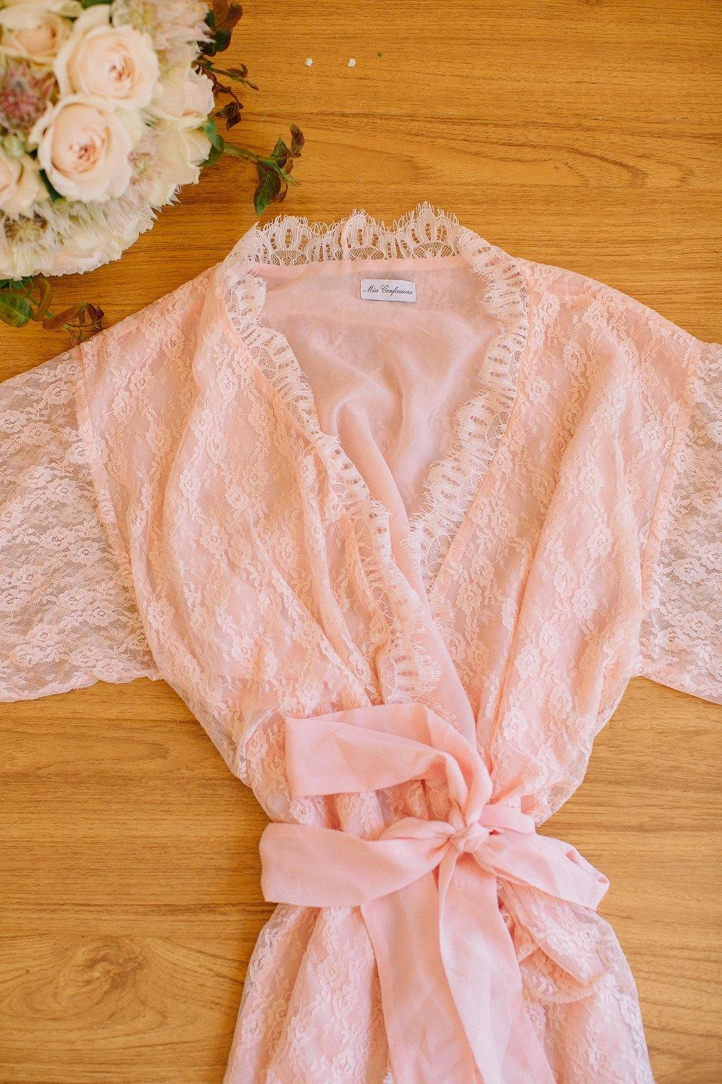 Angelic Peach Robe - Yen the Label