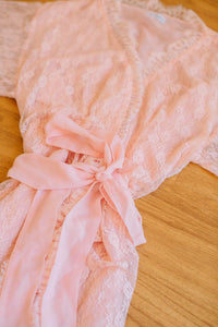 Angelic Peach Robe