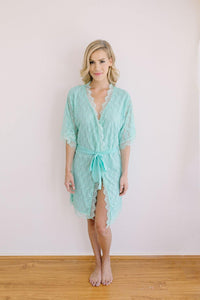 Angelic Tiffany Blue Robe - Yen the Label