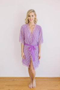 Angelic Lilac Robe