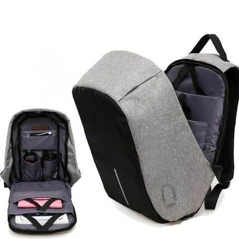 SmartPack™ Anti Theft USB-Charging Travel Backpack