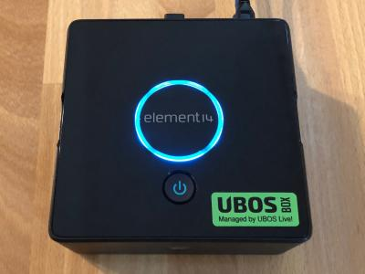 UBOSbox Nextcloud on Raspberry Pi