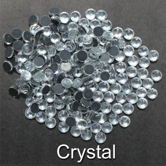 CRYSTAL - TSS Bulk Wholesale Hotfix Iron on Rhinestone Flatback Premium Quality