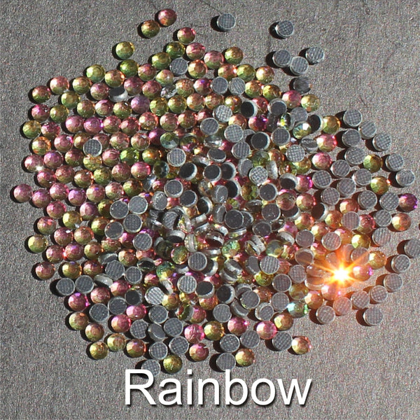 RAINBOW - TSS Bulk Wholesale Hotfix Iron on Rhinestone Flatback Premium Quality