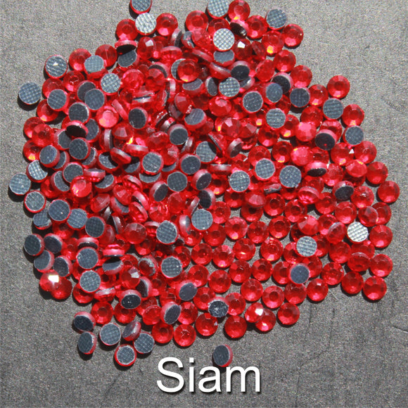 SIAM - TSS Bulk Wholesale Hotfix Iron on Rhinestone Flatback Premium Quality