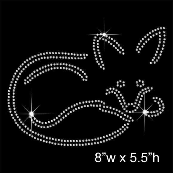 Fox Hotfix Rhinestone Transfer Diamante Motif, Iron on Applique